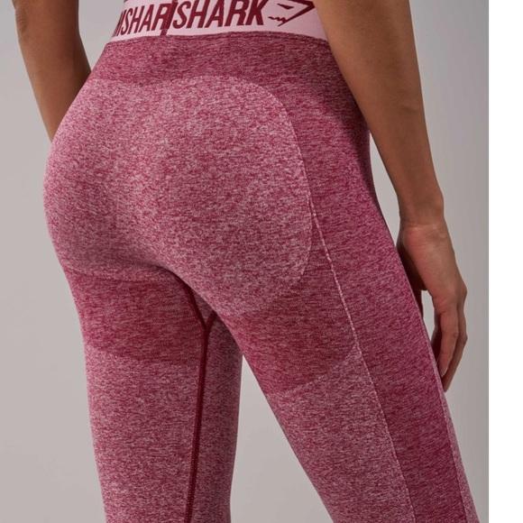 d909bce3afc4b Gymshark Pants   Flex Leggings Beet Marlchalk Pink   Poshmark